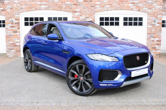 Used JAGUAR F-PACE in Yorkshire for sale