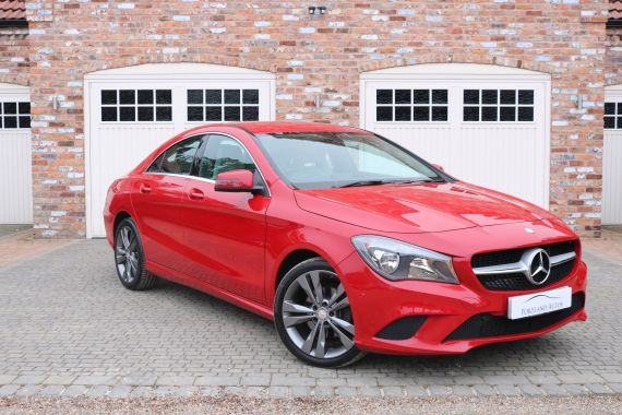 Used MERCEDES CLA CLASS in Yorkshire for sale