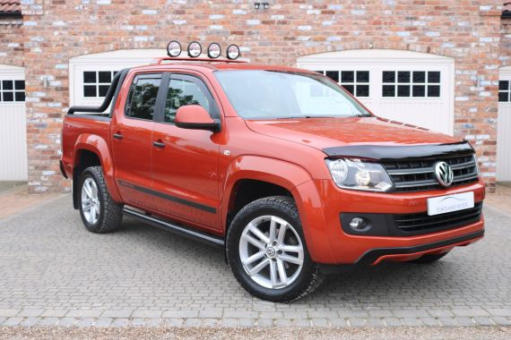 Used VOLKSWAGEN AMAROK in Yorkshire for sale