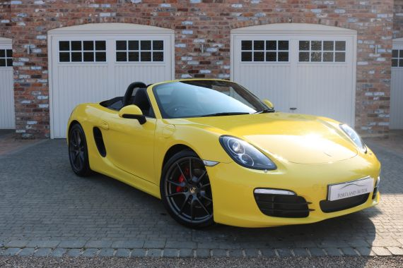 Used PORSCHE BOXSTER in Yorkshire for sale