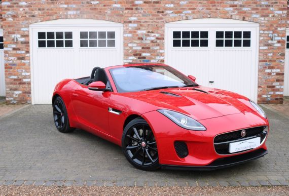 Used JAGUAR F-TYPE in Yorkshire for sale