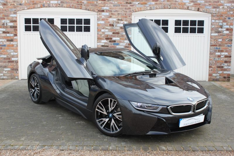 Used Bmw I8 I8 Sophisto Grey Metallic 1 5 Coupe Yorkshire