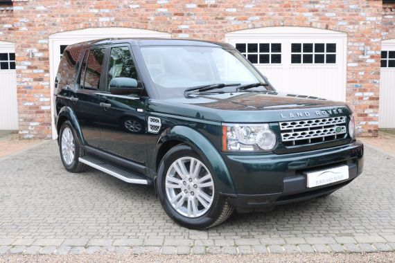Used LAND ROVER DISCOVERY 4 in Yorkshire for sale