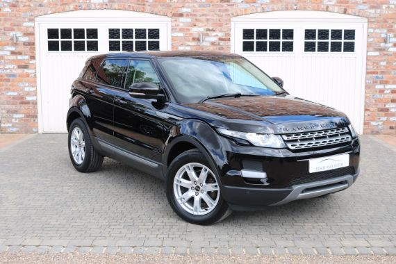 Used LAND ROVER RANGE ROVER EVOQUE in Yorkshire for sale