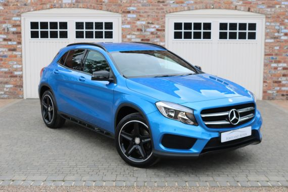 Used MERCEDES GLA-CLASS in Yorkshire for sale