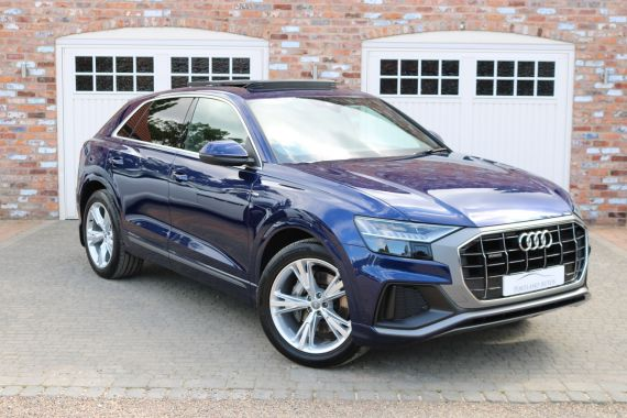 Used AUDI Q8 in Yorkshire for sale