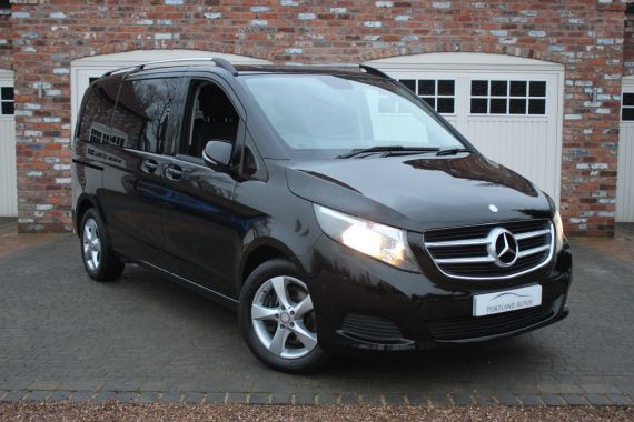 Used MERCEDES V-CLASS in Yorkshire for sale