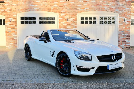 Used MERCEDES SL-CLASS in Yorkshire for sale