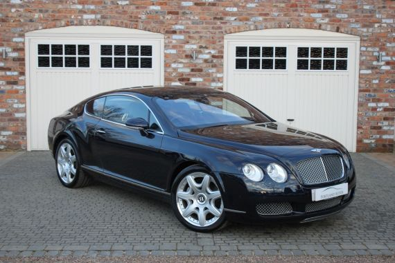Used BENTLEY CONTINENTAL in Yorkshire for sale