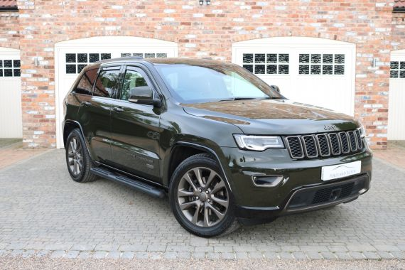 Used JEEP GRAND CHEROKEE in Yorkshire for sale