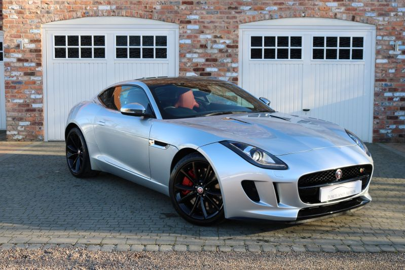 Used JAGUAR F-TYPE V6 S, RHODIUM SILVER METALLIC, 3 0, Coupe