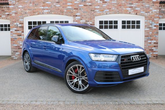 Used AUDI SQ7 in Yorkshire for sale