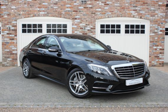 Used MERCEDES S-CLASS in Yorkshire for sale