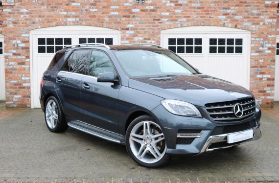 Used MERCEDES M-CLASS in Yorkshire for sale